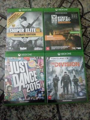State of Decay, The Division, Just Dance, Sniper Elite -