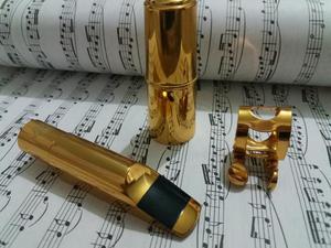 Boquilha Selmer De Metal N°7 Para Sax Alto Completa, ótimo