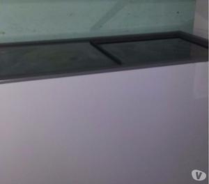 Freezer horizontal 2 portas de vidro Gelopar