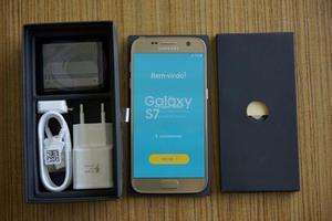 Galaxy S7 GOLD, 32GB Caixa e Acessorios