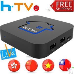 HTV 5 BOX Funciona só com internet,Não precisa antena - 4K