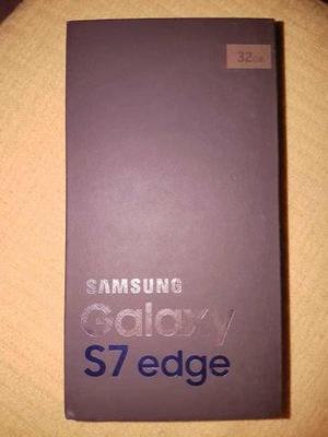 Smartphone Samsung Galaxy S7 edge Duos Dourado com 32GB,