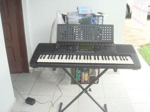 Teclado Yamaha PSR-520 - acompanha bônus e manual tudo em