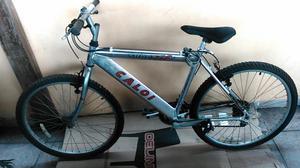 Bicicleta Aro 26 Caloi Alumínio com 21 Marchas