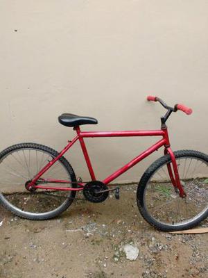 Bicicleta aro 26 freio pedal