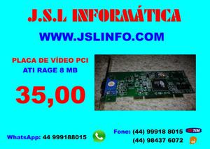 Placa de Vídeo Pci