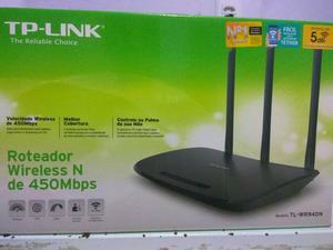 Roteador Tp-Link de 450Mbps com 3 Antenas