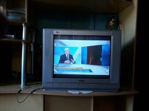 TV tela plana muito Boa