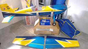 Aeromodelo Avião Extra 300SP Motor OS 4 Tempos e