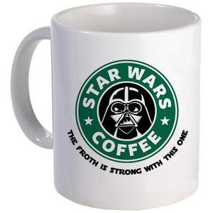 Caneca Darth Vader Coffee