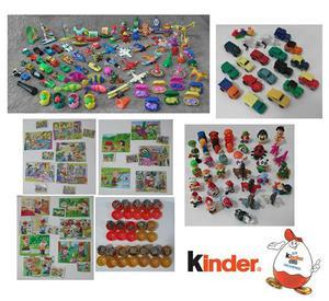Coleção Com 144 Miniaturas Kinder Ovo Anos 90 Original