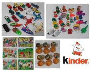 Coleção Com 49 Miniaturas Kinder Ovo Anos 90 Original