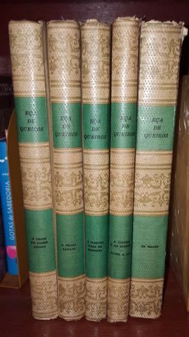 Coleção livros Eça de Queiroz - grandes obras - 5 volumes