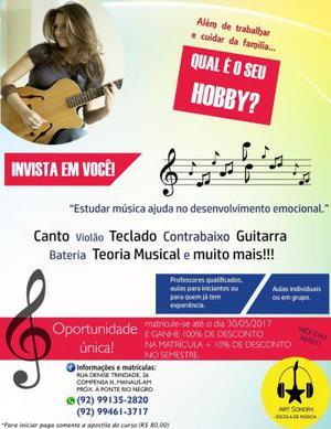 Escola de Música Art Sonora Promoção dia das mãe