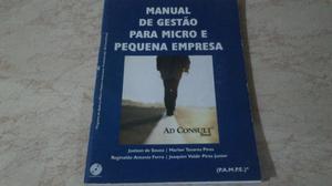 Manual De Gestão Para Micro E Pequena Empresa - Ad Consult