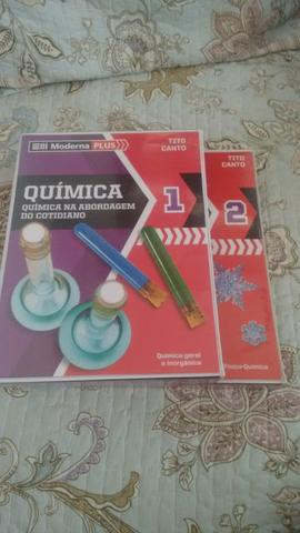 Química: química na abordagem do cotidiano, volume 1 e 2-