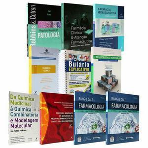 Coleção Livros para o curso de Farmácia