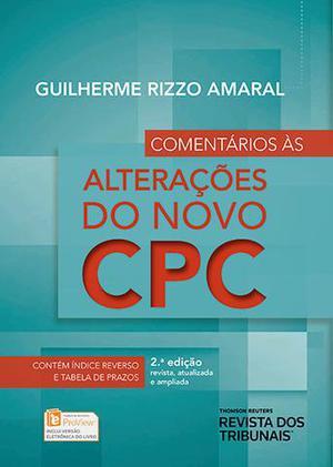 Livro - Comentários Às Alterações do Novo CPC - 2ª Ed