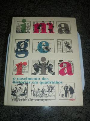 """Livro """"Imageria: O Nascimento das Histórias em Quadrinhos"""""""