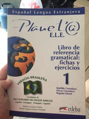 Livro Planeta E.L.E - Livro de Referencia gramatical de