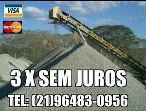 Peço baixo de Minerais para construção Areola Areia e