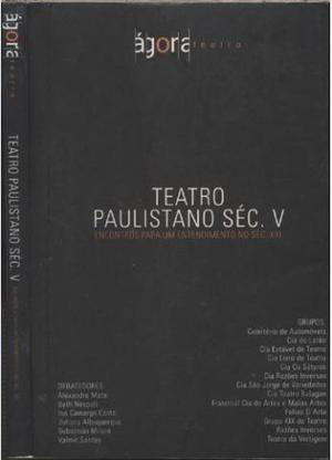 Teatro Paulistano Séc. V - Seminovo Em Ótimo Estado