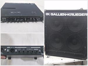 Cabeçote GK Mb Fusion 500 pre valvulado e Caixa GK