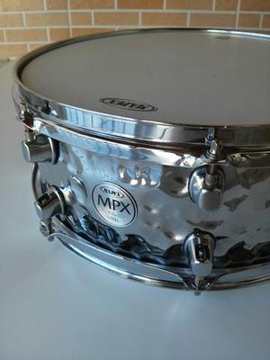 Caixa De Bateria Mapex Mpx Series Steel 14x5.5 Hammered