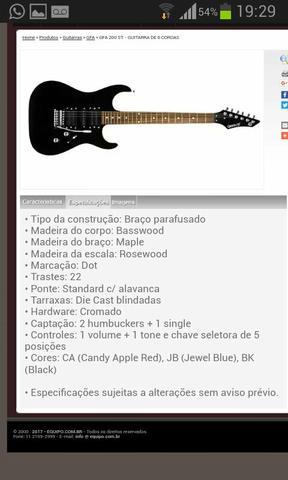 Guitarra Groovin NY Series + Capa