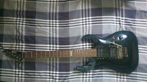 Guitarra esp mh-50 com floyd rose + bag + case