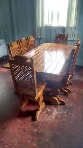 Mesa + 8 cadeiras