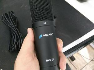 Microfone Condensador Arcano BKU01 USB