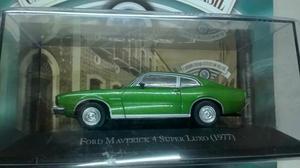 Miniatura carros inesqueciveis ford maverick super luxo