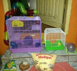 2 Gaiolas para Hamster