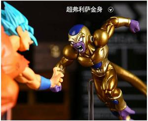 "Action Figures Dragon Ball Super - ""Goku God SSJ Vs Golden"