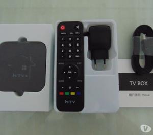 Box Htv 5 4K Lançamento Parcela no Cartão.