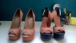 Dois pares de sapatos tam.: 37 pra levar logo