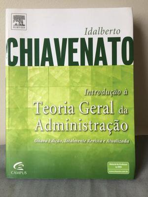 Livro de Administração do renomado escritor Chiavenato