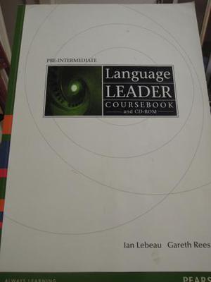 Livro de inglês Language Leader Coursebook and Cd-Rom