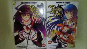 Mangá Yakuza Girl 1 e 2