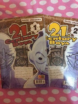Primeiros volumes de 21 century boys