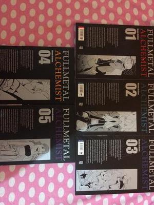 Primeiros volumes de Fullmetal Alchemist