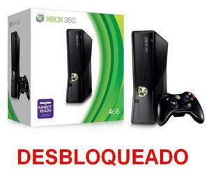 Xbox 360 slim DESBLOQUEIO RGH, 5 jogos, aceito play 2 slim