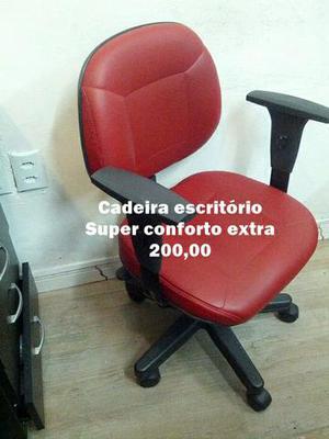 Cadeira Escritório Giratória Conforto Vip