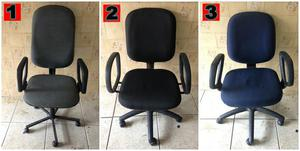 Cadeiras e mesas de escritorio