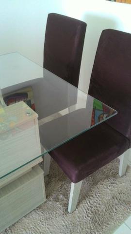 Conjunto Mesa 4 Cadeiras