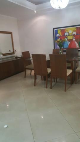 Mesa de vidro 6 cadeiras - arca e espelho