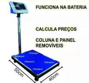 Balança Digital Eletrônica Bivolt 300kg