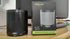 Caixa de Som Portátil Bluetooth USB P2 Micro SD
