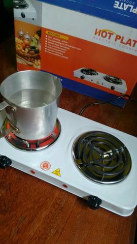 Fogão elétrico (não precisa de gás de cozinha)